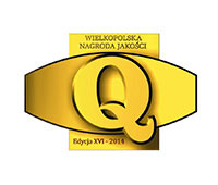 Quality certificate granted by the Wielkopolska Quality Institute
