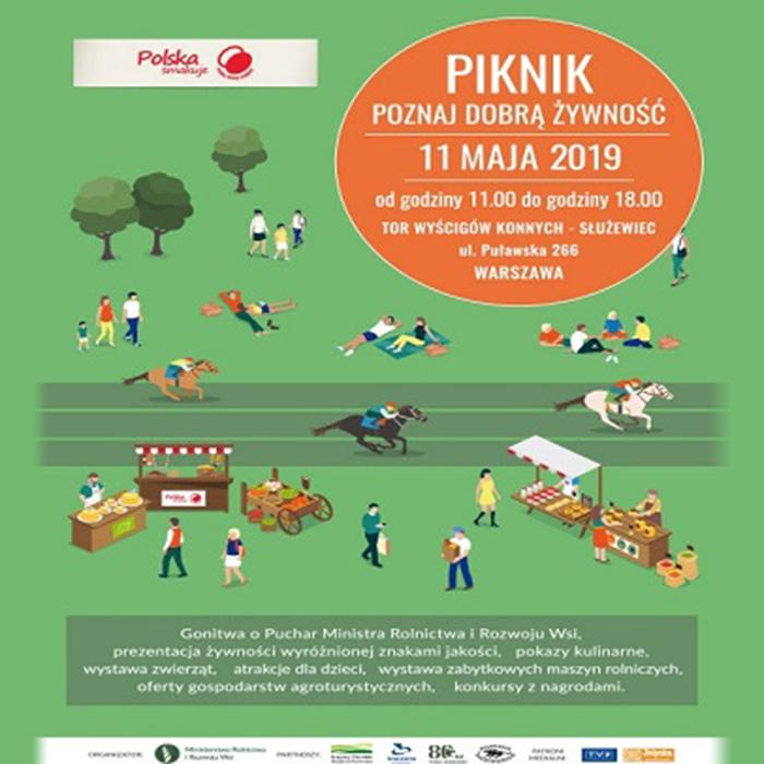 PIKNIK POZNAJ DOBRĄ ŻYWNOŚĆ 11 maja 2019 Warszawa